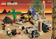 Lego The Secret of the Sphinx - 5978 (1998) - The Secret of the Sphinx BUILDING INSTR. 5978