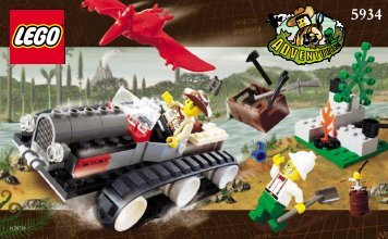 Lego Track Master - 5934 (2000) - Track Master BUILD. INST. FOR 5934