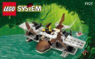 Lego Seaplanes - 5925 (1999) - RULER OF THE JUNGLE BUILDING INSTR. FOR 5925