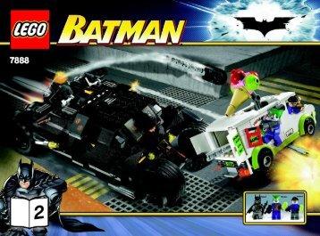 Lego The Tumbler™: Joker's Ice Cream Surprise - 7888 (2008) - Robin's Scuba Jet: Attack of The Penguin BUILDING INST. NO.2 - 7888