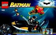 Lego Robin's Scuba Jet: Attack of The Penguin - 7885 (2008) - Robin's Scuba Jet: Attack of The Penguin BI 7885