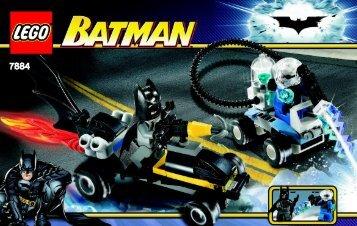 Lego Batman's Buggy: The Escape of Mr. Freeze - 7884 (2008) - The Batman™ Dragster: Catwoman™ Pursuit BI IN 7884
