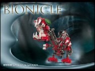 Lego Cahdok & Gahdok - 8558 (2002) - Cahdok & Gahdok BI 8558/1