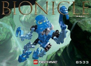 Lego Gali - 8533 (2001) - Pohatu Uniter of Stone BI 8533