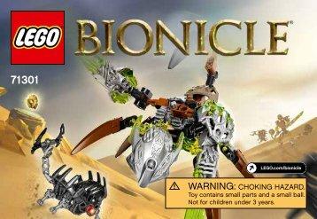 Lego Ketar Creature of Stone - 71301 (2016) - Skull Slicer BI 3010/32, 71301 V39