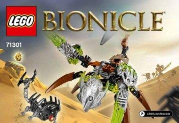 Lego Ketar Creature of Stone - 71301 (2016) - Skull Slicer BI 3010/32, 71301 V29