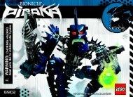 Lego Vezok - 8902 (2006) - Toa Lhikan & Kikanalo BI 8902 NA