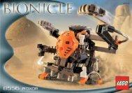 Lego Boxor - 8556 (2002) - Nui-Jaga BI 8556/1