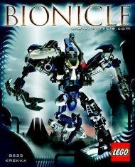 Lego Ultimate Dume - 10202 (2004) - BIONICLE BI 8623IN/NA