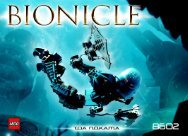 Lego Bionicle Co-PAck B - 65467 (2004) - Co-Pack A BUILDING INSTR. 8602 IN