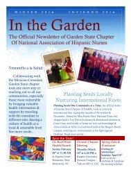 NAHN Winter Newsletter 2016