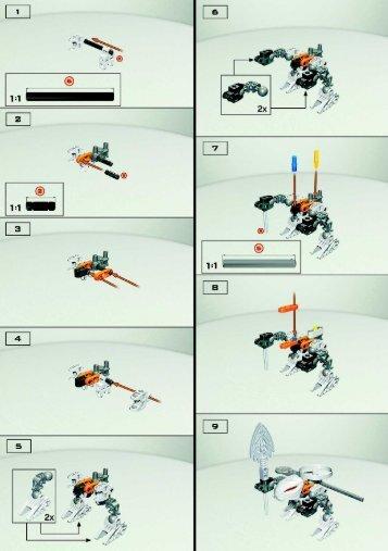 Lego Rahaga Kualus - 4870 (2004) - BIONICLE BI, 4870