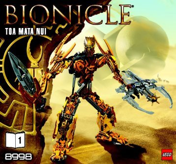 Lego Toa Mata Nui - 8998 (2009) - Thornatus V9 BI 3005/48 - 8998 - 1/2