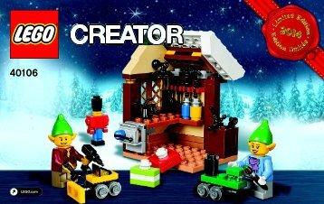 Lego Toy Workshop - 40106 (2014) - Monthly Minibuild August BI 3003/32- 40106