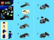 Lego Zombie Car - 40076 (2012) - Monthly Minibuild Sept 2013 BI 2002/ 2 - 40076