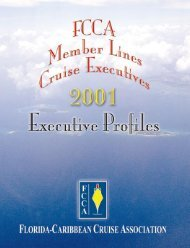 FCCA Member Lines - The Florida-Caribbean Cruise Association