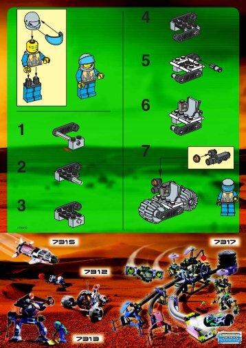 Lego ALIEN ENCOUNTER - 1195 (2001) - MILK CART BI 1195