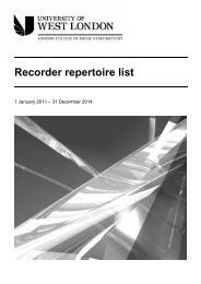 LCM Exams - Recorder Grades repertoire list - esamilcm.it