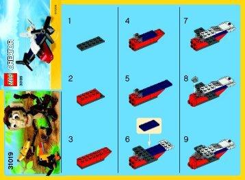 Lego Transport Plane - 30189 (2014) - Little Car BI 2002/ 2, 30189, V29