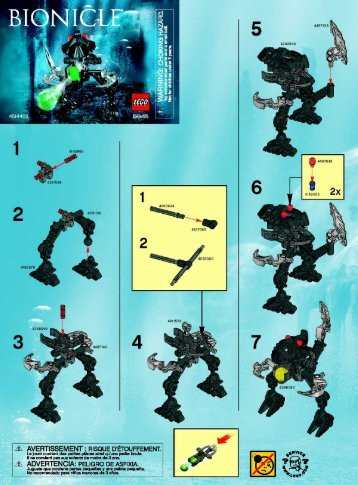 Lego Bad Guy 07 - 6945 (2007) - Bad Guy 2008 BUILDING INSTR 2002 6945 NA