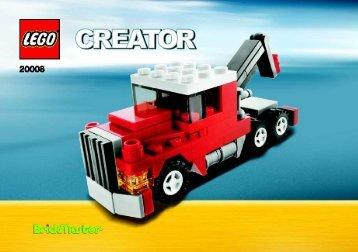 Lego 2009 BM Creator MAY - 20008 (2009) - Fire Car BI 3001/16 - 20008 V 46