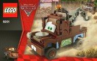 Lego Classic Mater - 8201 (2011) - CARS 1 BI 3003/24 - 8201 V.29