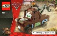 Lego Classic Mater - 8201 (2011) - CARS 1 BI 3003/24 - 8201 V.39