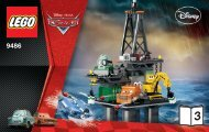 Lego Oil Rig Escape - 9486 (2012) - Jeff Gorvette BI 3004/32 - 9486 3/4 V29/39
