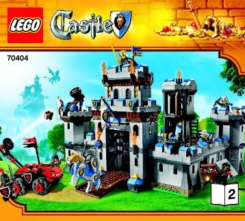 Lego King's Castle - 70404 (2013) - Tower Raid BI 3017 / 72+4 - 70404 V39 2/3