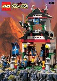 Lego THE SAMURAI TOWER - 6083 (1998) - Catapult Crusher BI FOR 6083