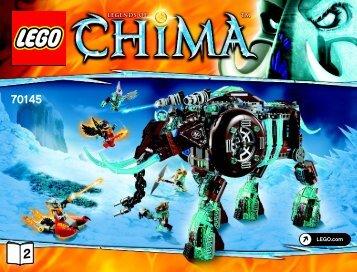 Lego Maula's Ice Mammoth Stomper - 70145 (2014) - Sky Launch BI 3019/52-65G - 70145 V29 2/2