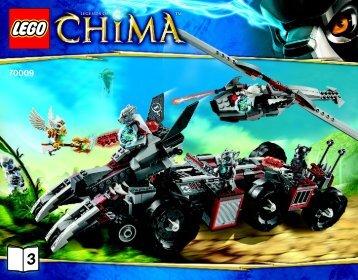 Lego LEGO Chima Super Pack - 66474 (2013) - Chima Value Pack BI 3016/64+4 - 70009 V39 3/3