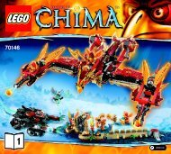 Lego Flying Phoenix Fire Temple - 70146 (2014) - Sky Launch BI 3017 / 64+4 - 65/115g - 70146 V39 1/3