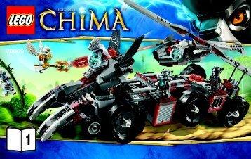 Lego LEGO Chima Super Pack - 66474 (2013) - Chima Value Pack BI 3004/44 - 70009 V39 1/3