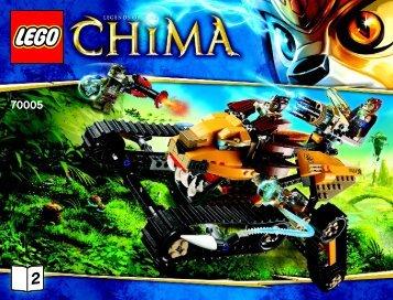 Lego Laval's Royal Fighter - 70005 (2013) - Chima Value Pack BI 3019/44-65G 70005 V39 2/2