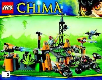 Lego Lavertus' Outland Base - 70134 (2014) - Lavertus' Twin Blade BI 3016 80+4*-70134 BOOK 2/2 v29