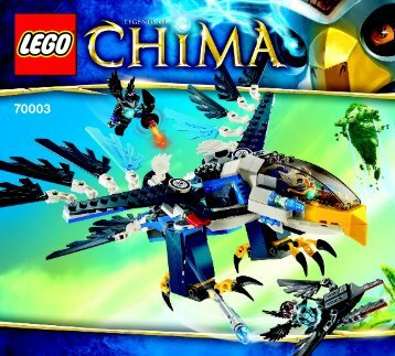 Lego Eris' Eagle Interceptor - 70003 (2013) - Chima Value Pack BI 3017 / 80+4 -70003 v39