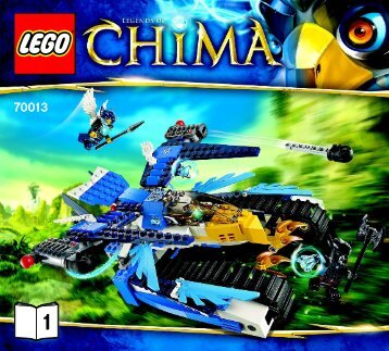 Lego Equila's Ultra Striker - 70013 (2013) - Eglor's Twin Bike BI 3017 / 44 - 65g 70013 V29/39 1/2