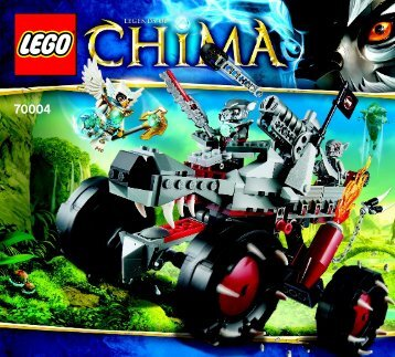 Lego Wakz' Pack Tracker - 70004 (2013) - Chima Value Pack BI 3017 / 80+4 - 65/115g 70004 V29/39