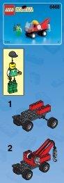 Lego TOW 'N' GO - 6468 (1999) - JET SKI THEME BUI.INST.6468 CRANE W/HOO 1/2