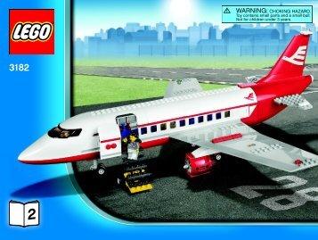 Lego Airport - 3182 (2010) - LEGO® City Airport BI 3009/60+4 - 3182 V.39 2/4