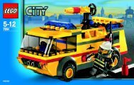 Lego City Airport Co-Pack AT - 66214 (2007) - Helicopter and Limousine BI  7891 IN