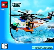 Lego Coast Guard Helicopter & Life Raft - 7738 (2008) - Coast Guard 4WD & Jet Scooter BUILD INSTR 3005, 7738 NA 2/2
