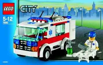 Lego City Airport Co-Pack AT - 66214 (2007) - Helicopter and Limousine BI  7890 IN