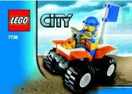 Lego CITY Value Pack - 66290 (2008) - Coast Guard Platform BUILD INSTR 3001, 7736 IN