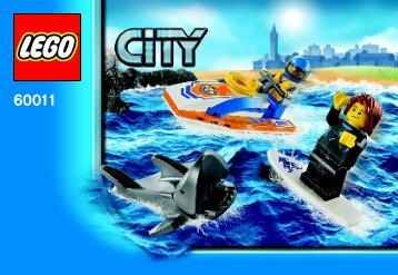 Lego Surfer Rescue - 60011 (2013) - Coast Guard Platform BI 3001/20 - 60011 V29