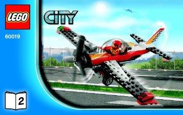 Lego Stunt Plane - 60019 (2013) - Helicopter and Limousine BI 3004/48 - 60019 V29 2/2