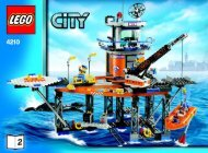 Lego CITY Value Pack - 66290 (2008) - Coast Guard Platform BUILD INSTR 3006, 4210 2/2