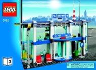 Lego Airport - 3182 (2010) - LEGO® City Airport BI 3006/64 - 3182 V.39 3/4
