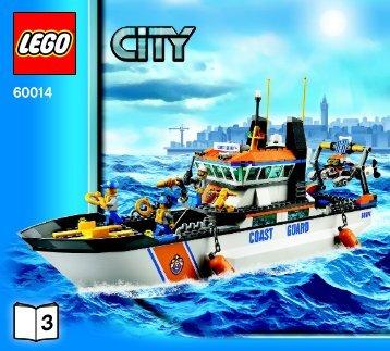 Lego Coast Guard Patrol - 60014 (2013) - Coast Guard Platform BI 3017 / 72+4 - 65/115g, 60014 V29 3/3